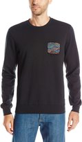 RVCA Men's the Blur Crew Sweatshirt