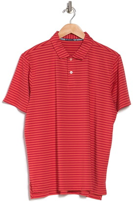 Southern Tide First Mate Striped Performance Polo