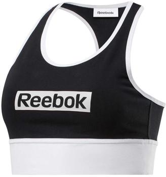 Reebok Womens Training Essentials Linear Logo Sports Bra