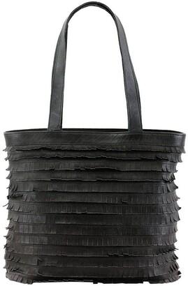 Prairie PRM201 Fringe Double Handle Tote Bag