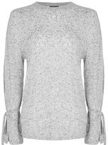 Topshop Long sleeve sloppy t-shirt