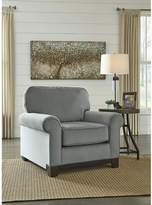 Signature Design by Ashley Benld Velvet Accent Chair