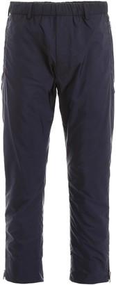 Prada Lightweight Zipped Ankle Track Pants