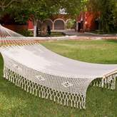 Novica Single Person Daydreamer's Heaven Hand-Woven Mayan Artists of the Yucatan Natural Cotton with Accessories Included Indoor And Outdoor Hammock