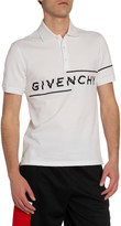 Givenchy Men's New Embroidered Polo Shirt