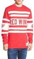 Mitchell & Ness Men's Red Wings Open Net Pullover