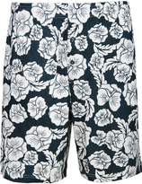 Godsen Men's Cotton Lounge Shorts with Pockets Elastic (M, )