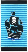 Pirate Beach Towel in Blue