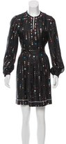 Isabel Marant Silk Polka Dot Print Dress