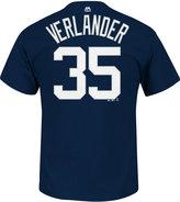 Majestic Men's Justin Verlander Detroit Tigers Official Player T-Shirt