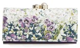 Ted Baker Women's Enchantment Leather Matinee Wallet - Blue