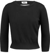 MM6 MAISON MARGIELA Cutout Stretch-Knit Top