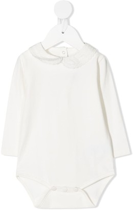 Tartine et Chocolat Scalloped-Collar Babygrow