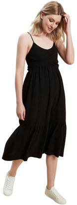Seed Heritage Wrap Front Midi Dress
