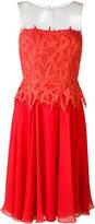 Blumarine Bamboo dress - women - Silk/Polyamide/Spandex/Elastane - 42