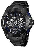 Haurex Italy Aston Chrono Black Dial Men's watch #0N366UNB