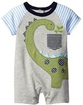 Mud Pie Dinosaur Raglan One-Piece Boy's Jumpsuit & Rompers One Piece
