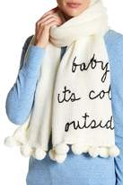 Kate Spade Baby Its Cold Outside Knit Scarf