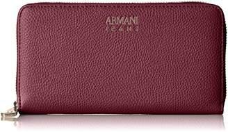 Armani Jeans Pebble Faux Leather Contential Wallet