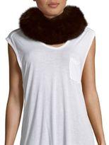 Saks Fifth Avenue Fox Fur Collar/Headband