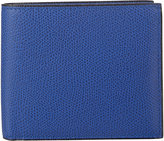 Valextra Men's Billfold Wallet-BLUE