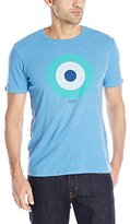 Ben Sherman Men's Short Sleeve Target Crew Neck T-Shirt