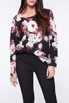 Sanctuary Rose Bloom Top