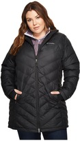 Columbia Plus Size Heavenly Long Hooded Jacket Women's Coat