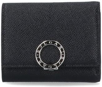 Bulgari Logo Compact Wallet