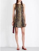 MICHAEL Michael Kors Cheetah jacquard dress