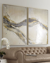 """Horchow Two-Piece """"Ascent"""" Giclee Set"""