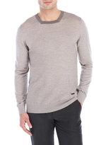 Armani Collezioni Square Neck Wool Sweater