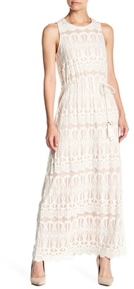 Brinker & Eliza Sleeveless Blouson Maxi Dress