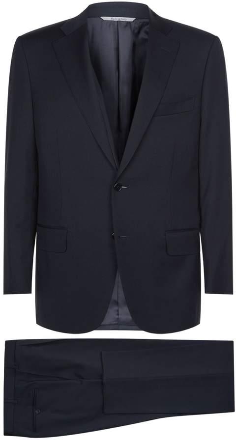 Canali Plain Twill Suit