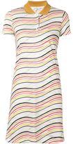 Carven striped polo shirt dress