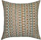 Spencer Home Decor Brenna Geometric Striped Throw Pillow