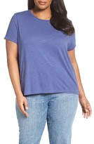 Eileen Fisher Plus Size Women's Organic Cotton Tee
