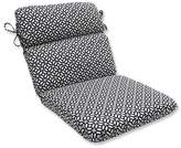 Pillow Perfect In The Frame Outdoor One Piece Seat And Back Cushion - Black
