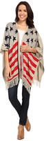 Scully Honey Creek Patriot Flag Kabuki Fringe Sweater