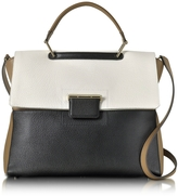Furla Petalo and Onyx Artesia Large Top Handle Bag