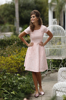 Shabby Apple Heart of Dixie Dress Pink