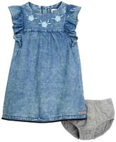 Hudson Dress & Bloomer Set (Baby Girls)