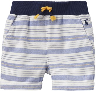 Joules Baby Infant Toddler Boys Huey Shorts Navy Blue Woven Cotton