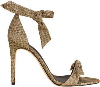 Alexandre Birman Clarita 100 Lame Sandals