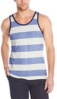 Parke & Ronen Men's Striped Tank Top