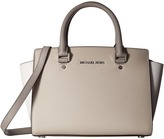 MICHAEL Michael Kors Selma Medium Tz Satchel Satchel Handbags