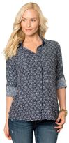 A Pea in the Pod Splendid Button Front Maternity Top