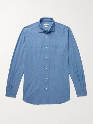 Incotex Fellini Slim-Fit Stretch-Chambray Shirt