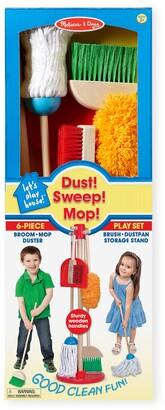 Melissa & Doug Dust, Sweep & Mop Toy Set