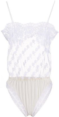 Stella McCartney Floral-Lace Teddy